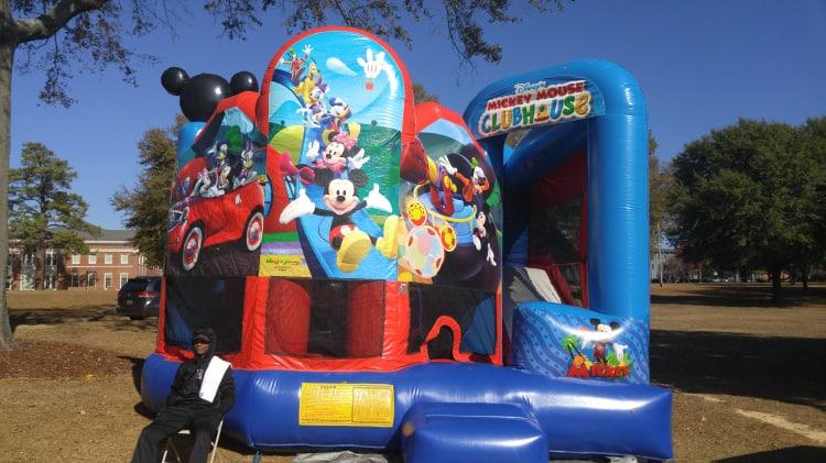 Mickey Mouse Bounce/Climb/Slide
