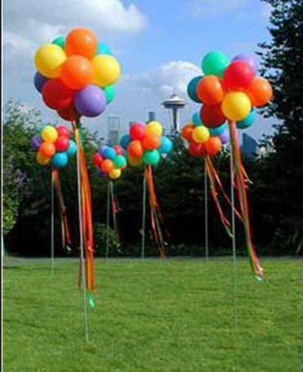 Seasonal Balloon Decor